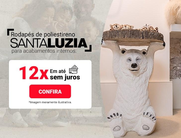 Rodapé de poliestireno Santa Luzia