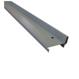 Batente horizontal Rollfor liso 220 branco 25mm x 45mm x 0,840m