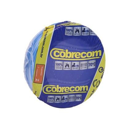 Cabo Fio Elétrico Cobrecom Flexível Azul Claro 1,5mm x 50m