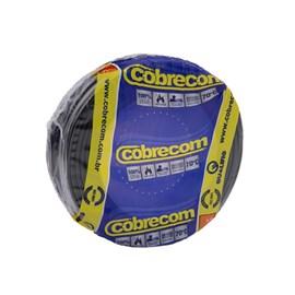 Cabo Fio Elétrico Cobrecom Flexível Preto 1,5mm x 50m