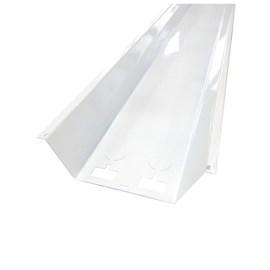 Calha Para Luminária Forro 2 x 40W Intral 5706 Branca 1,24m x 16cm x 6cm