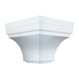 Cantoneira externa para Forro de PVC Plasbil branca 4 unidades
