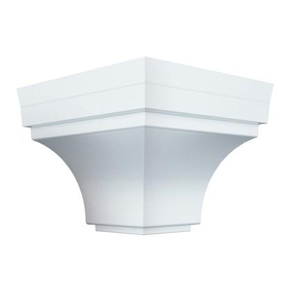 Cantoneira externa para forro PVC Plasbil branca 4 unidades