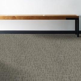 Carpete placa Shaw Mainstreet Genius 44505 masterful mescla clara 61cm x 61cm