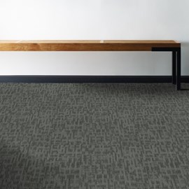 Carpete placa Shaw Mainstreet Genius 44515 sharp mescla escura 61cm x 61cm