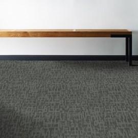 Carpete Placa Shaw Mainstreet Genius Sharp Mescla Escura 44515 61cm x 61cm