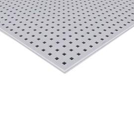 Chapa de Gesso Knauf Clean Furação Quadrada Branco 1200mm x 2000mm x 12,5mm