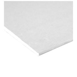 Chapa de Gesso para Drywall Placo Branca 9,5mm 1,20m x 2,40m x 9,5mm