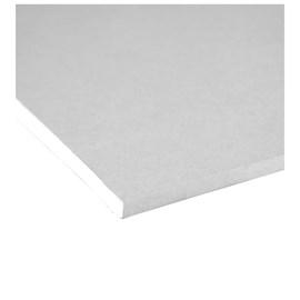 Chapa de gesso para drywall Placo - Knauf Standart branca 12,5mm x 1,20m x 2,40m