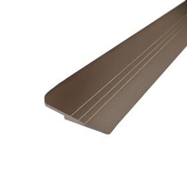 Chapa redutora para piso vinílico LVT Bauxita bronze 3m