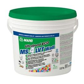 Cola para piso vinílico Mapei Ultrabond Eco MS 4 LVT Wall 7kg