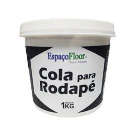 Cola para rodapé EspaçoFloor branca 1kg
