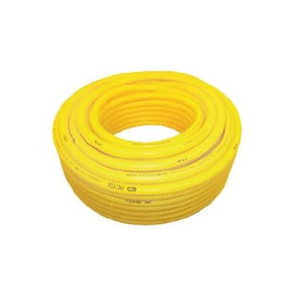 Conduíte flexível Adtex corrugado amarelo 25m