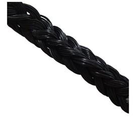Cordão de nylon para piso Cordoflex preto 1m