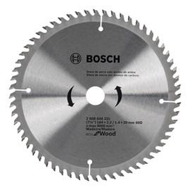Disco de Serra Circular Eco Bosch D184x60T 60 Dentes