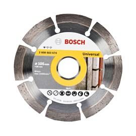 Disco Diamantado Segmentado Universal Bosch 105mm