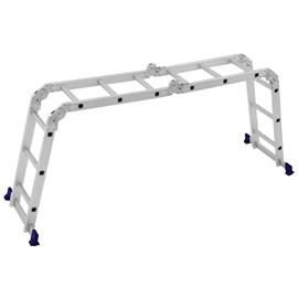 Escada Multifuncional Mor Aluminio 4 x 3 12 Degraus