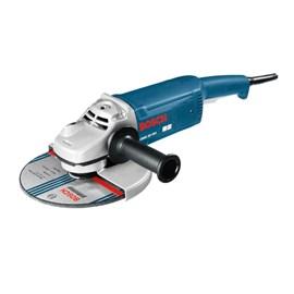 """Esmerilhadeira Angular 7"""" GWS 20-180 127 Volts Bosch"""