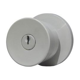 Fechadura Botão-Chave 41416 Lockwell Branca