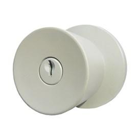 Fechadura botão chave Lockwell 41415 cinza