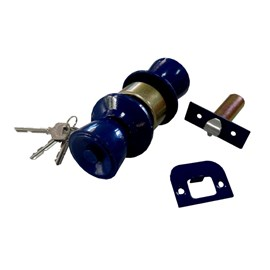 Fechadura Cylindrical Forte Genérico Azul