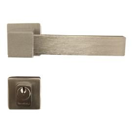 Fechadura externa Lockwell Design Quadra 43-2684 cromada 55mm