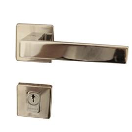 Fechadura externa Lockwell Designe Loft 43-2424 cromada 55mm