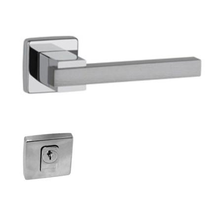 Fechadura externa Lockwell Future Dudu 43-4168 AAE cromada 55mm