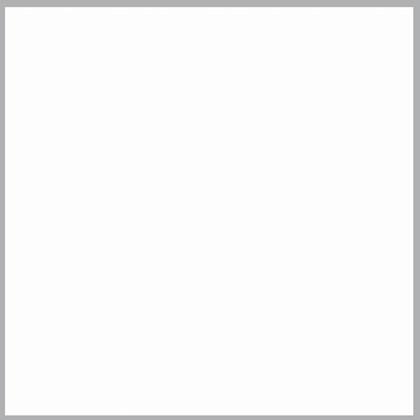 Fita de borda Tegus 22 x 0,45mm Colors branco aspro 20m