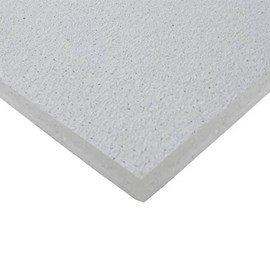 Forro de fibra mineral Armstrong Ceilings Sahara lay-in branco 15mm x 625mm x 1250mm
