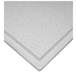 Forro de fibra mineral Armstrong Ceilings Sahara tegular branco 15mm x 625mm x 625mm