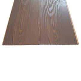 Forro de pvc em régua EspaçoForro Wood Nature oak nero 8mm x 25cm x 3,95m