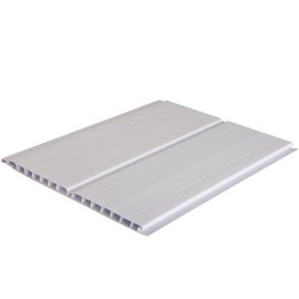 Forro de pvc em régua Plasbil Versatti branco 7mm x 20cm x 3m