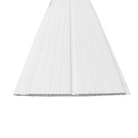 Forro PVC em régua E-PVC Branco 200mm x 4,5m 200mm x 4m