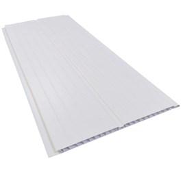 Forro PVC em régua E-PVC Branco 200mm x 5m 200mm x 5m