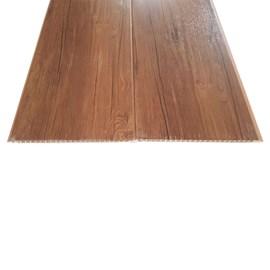 Forro PVC em Régua E-PVC Wood Nature Cedro 25cm x 8mm x 3,95m