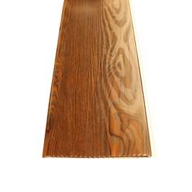 Forro PVC em Régua E-PVC Wood Nature Oak Nero 250mm x 5,95m x 8mm