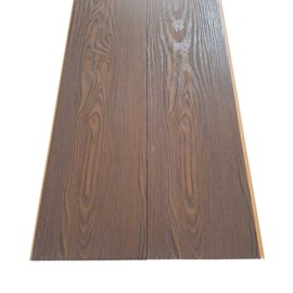 Forro PVC em Régua E-PVC Wood Nature Oak Nero 25cm x 8mm x 3,95m