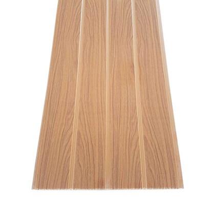 Forro PVC em Régua E-PVC Wood Slim Carvalho 25cm x 7mm x 3,95m