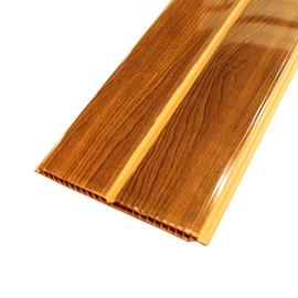 Forro PVC em Régua E-PVC Wood Slim Castanho 200mm x 5,95m x 7mm