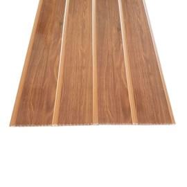 Forro PVC em Régua E-PVC Wood Slim Castanho 25cm x 7mm x 3,95m