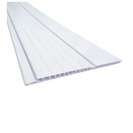 Forro PVC em régua Plasbil Branco 4m 200mm x 4m x 8mm
