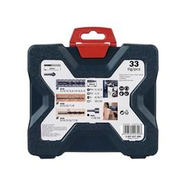 Jogo de broca Bosch X-line 33 peças