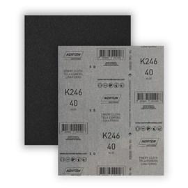 Lixa para ferro Norton 80 K246 225x275mm