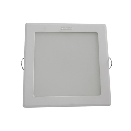 Luminária led embutir Intral Piazza quadrada 130mm x 130mm