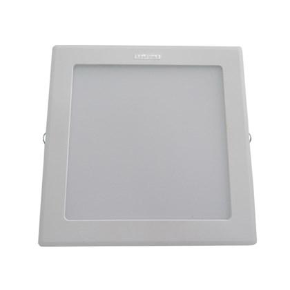Luminária led embutir Intral Piazza quadrada 230mm x 230mm