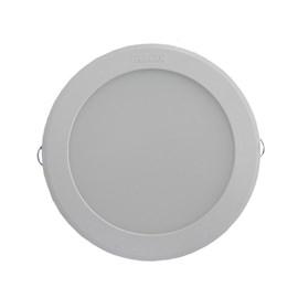 Luminária led embutir Intral Tondo rendonda 185mm