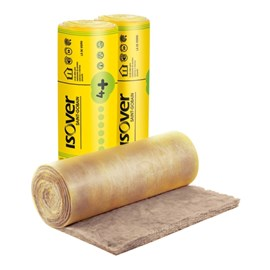 Manta Lã de Vidro Isover Wallfelt POP4+ Inteira 50mm x 1,20m x 12,50m