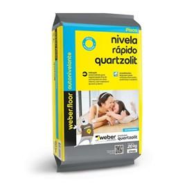 Massa Nivela Rápido Weber Quartzolit 20Kg