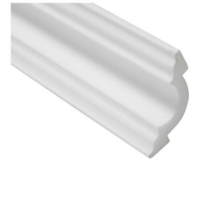 Moldura de isopor roda teto Gart Nomastyl A2 branco 7cm x 2m